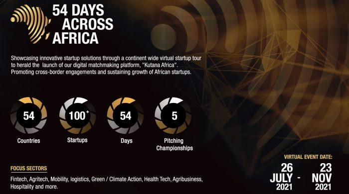 54 days in Africa