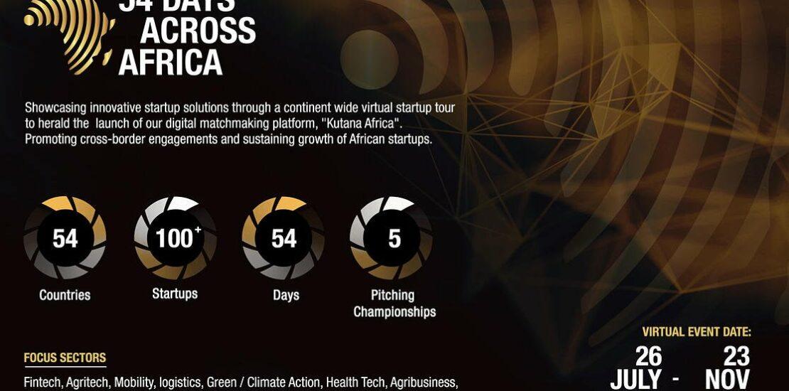 54 days across africa